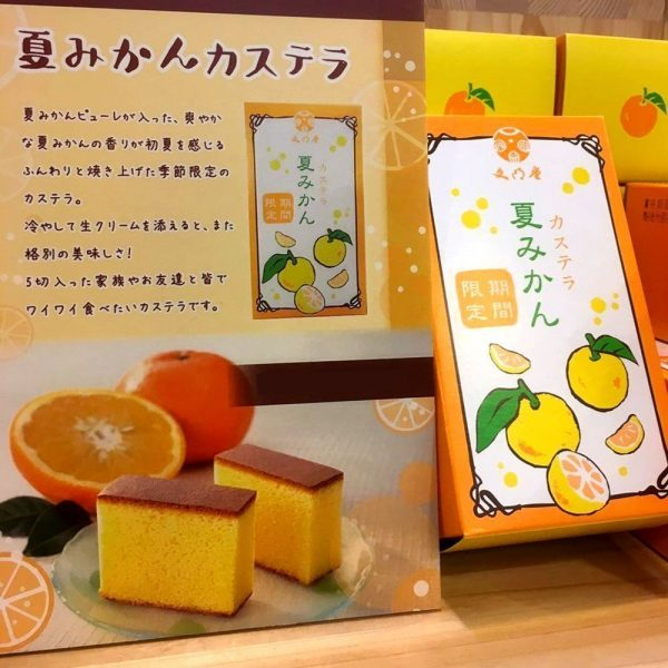 BUNMEIDO Mandarines Honey Castella 5 Slices Made in Japan
