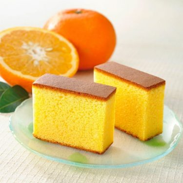 BUNMEIDO Mandarines Honey Castella 5 Slices Made in Japan