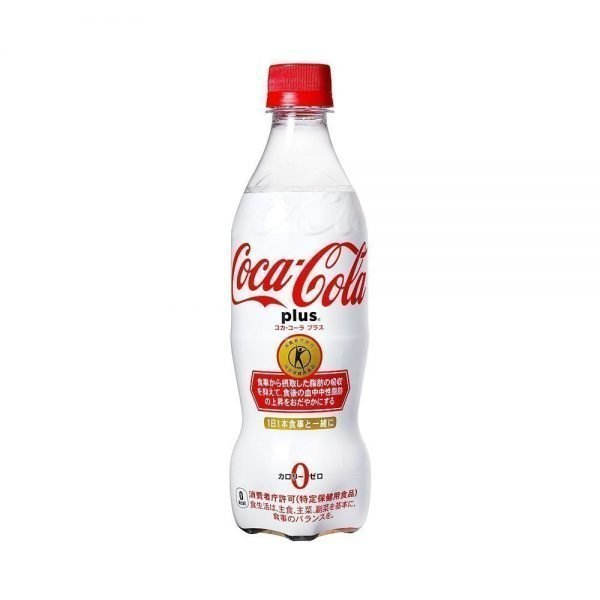 COCA COLA Plus No-Calorie with Dietary Fibre Made in Japan