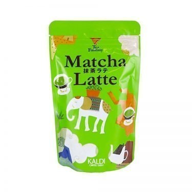 KALDI Original Instant Green Tea Latte Made in Japan