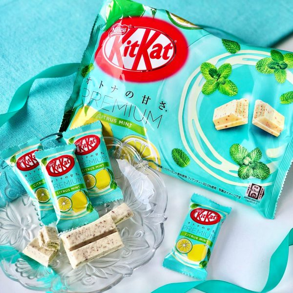 Kit Kat Premium Peach Mint Limited Seasonal Special Edition Made in Japan