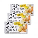 ASAHI Cream Soy & Cream Healthy Snacks Made in Japan