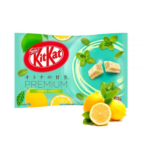 Kit Kat Premium Citrus Mint Made in Japan