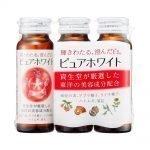 SHISEIDO Pure White Drinks 50ml Bottles Made in Japan