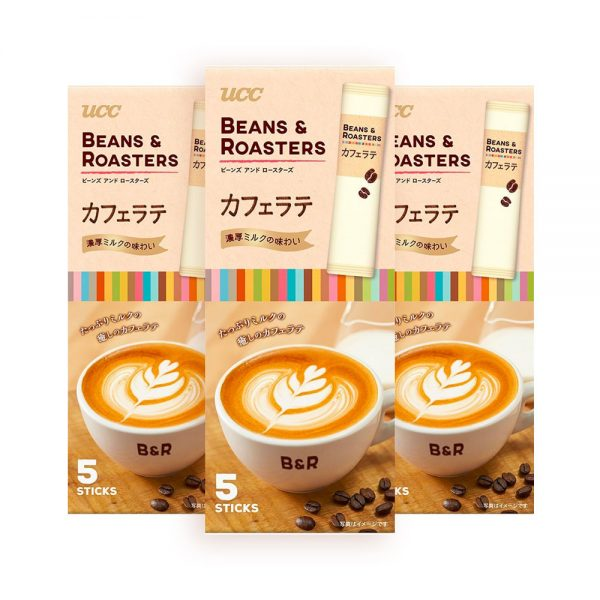 UCC Beans & Roasters Cafe Latte Made in Japan