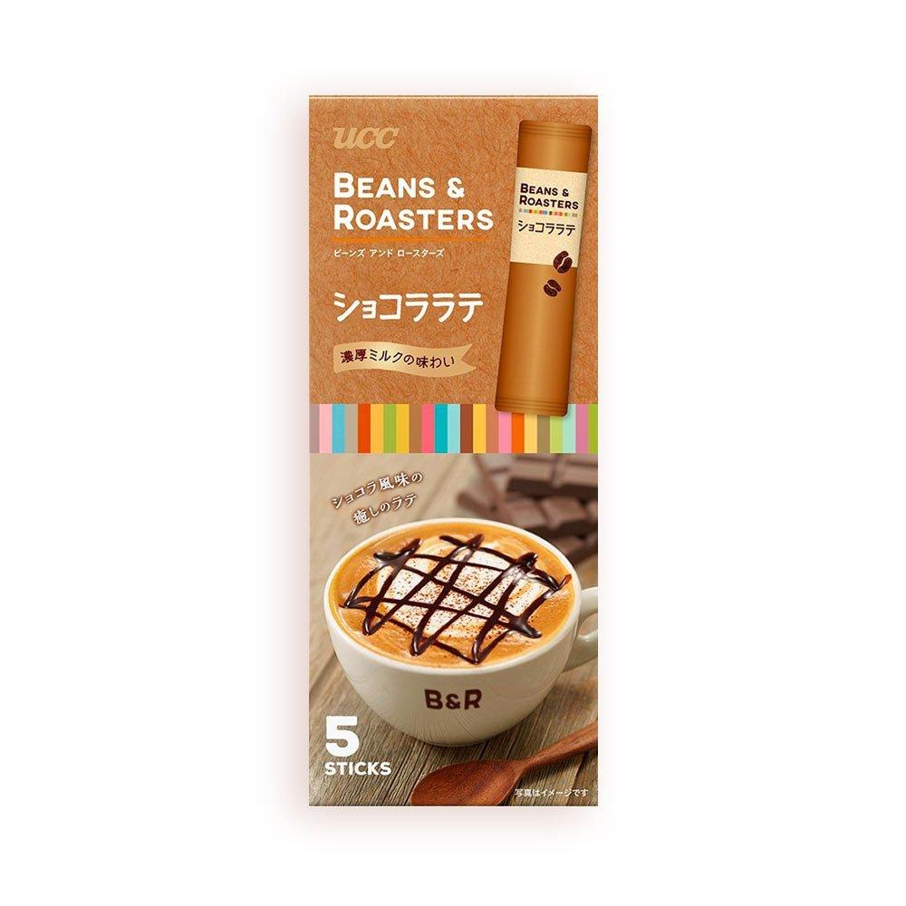 UCC Beans & Roasters Chocolate Latte 3 X 5 Sticks