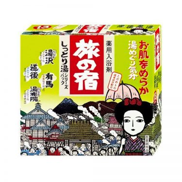 KRACIE Tabinoyado Moist Hot Water Series Pack Made in Japan