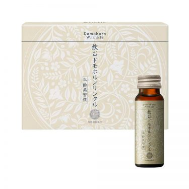 DOMOHORN WRINKLE Collagen Drink 50ml x 7 Bottles- Made in Japan