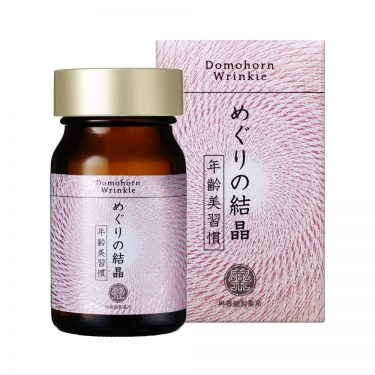 DOMOHORN WRINKLE Meguri No Kessho Beauty Supplement 120 Tablets - Made in Japan