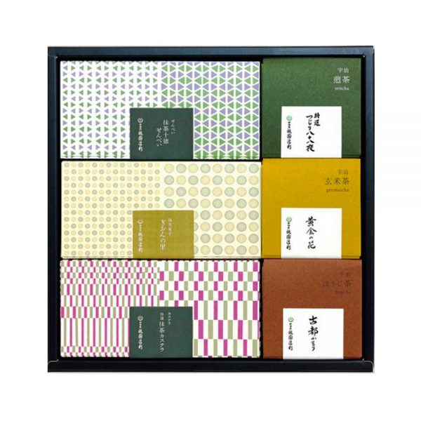 GION TSUJIRI Assorted Uji Tea and Matcha Confectionery Made in Japan