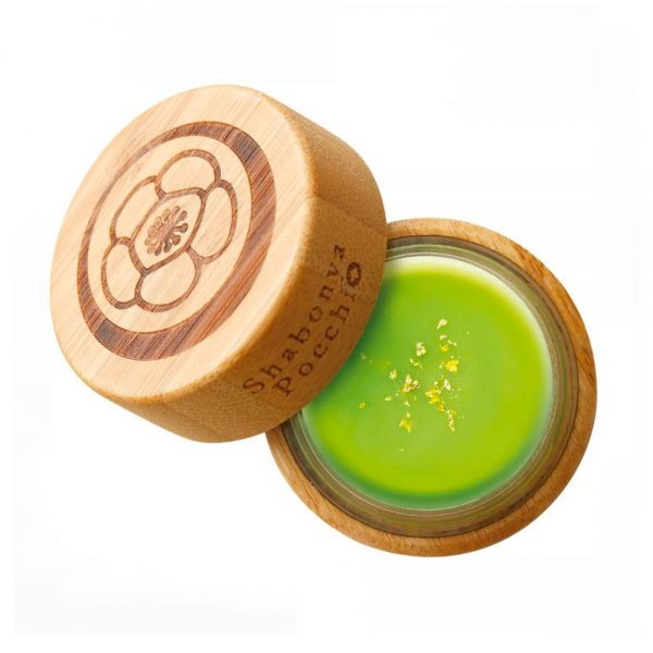 GION TSUJIRI Matcha Balm Skin Cream Kyoto Shabonya Made in Japan