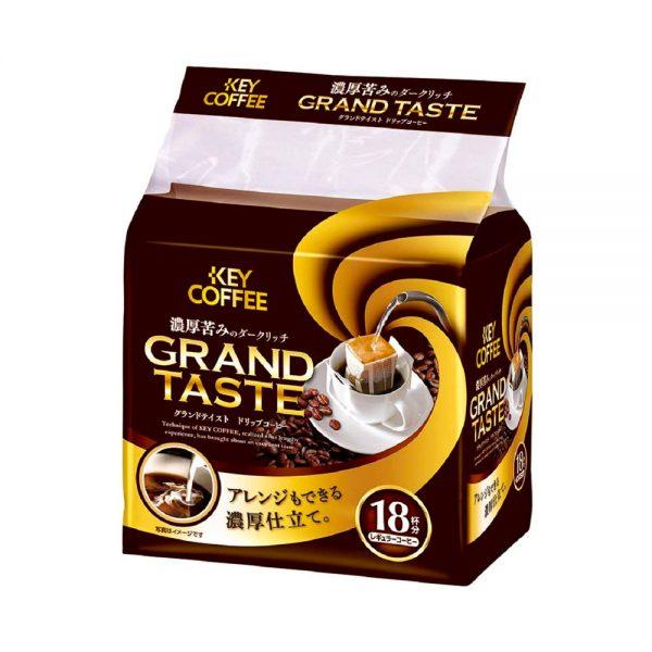 KEY COFFEE Drip Coffee Grand Taste Thick Bitter Dark Rich Blend Made in Japan