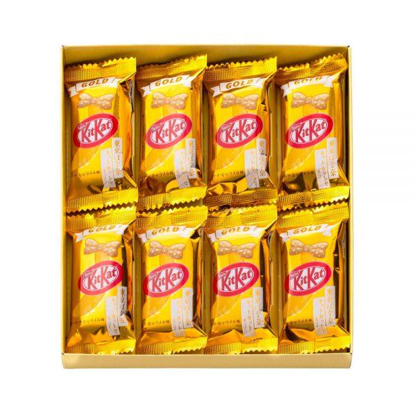 KIT KAT GOLD Tokyo Banana Caramel Flavour Made in Japan