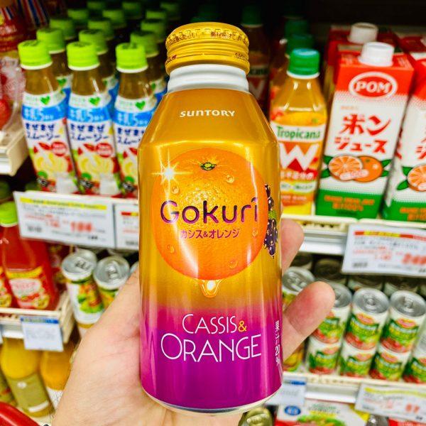 SUNTORY Gokuri Cassis & Orange Pulps Nectar