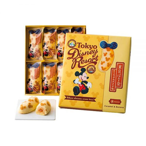 Tokyo Banana Disney Resort Caramel & Banana Made in Japan