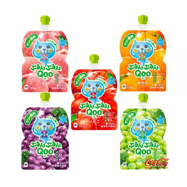 JAPAN COCA COLA Purun Purun Qoo Jelly Drink Mandarins Flavour Made in Japan