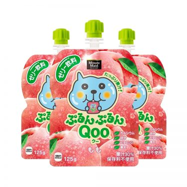 JAPAN COCA COLA Purun Purun Qoo Jelly Drink Peach Flavour Made in Japan