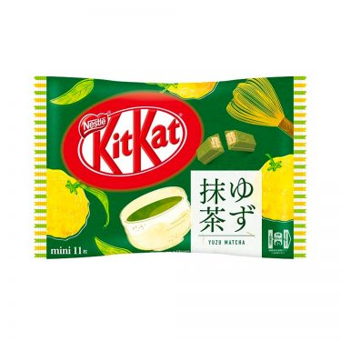 KIT KAT Yuzu & Matcha Available Only in Japan