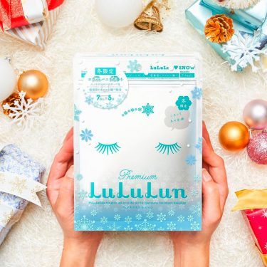 LULULUN Premium Lulu Run Snow White Vanilla Face Masks 35pcs Limited Edition Made in Japan