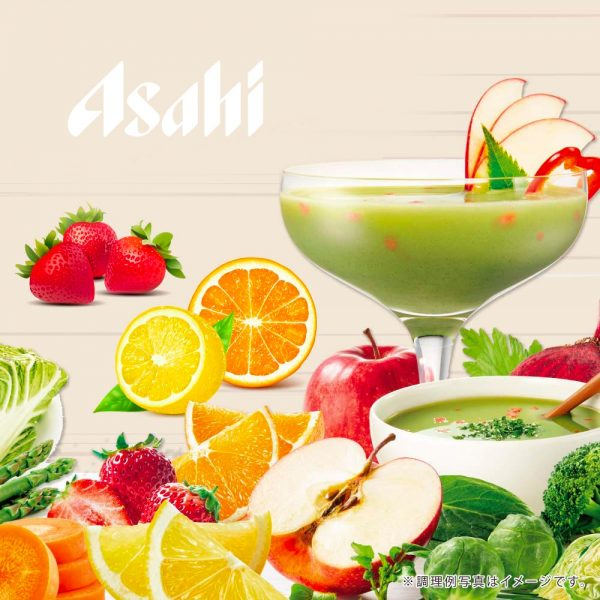 ASAHI Slim Up Slim Fruit Vegetable Shake Fruit Mix Flavour Made in Japan
