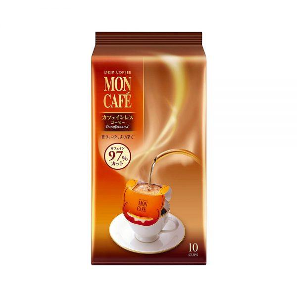 KATAOKA Mon Cafe Drip Coffee Decaffeinated Sachets Made in Japan