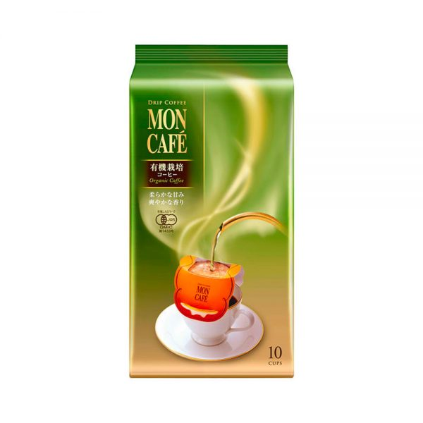 KATAOKA Mon Cafe Drip Coffee Organic Coffee Sachets Made in Japan