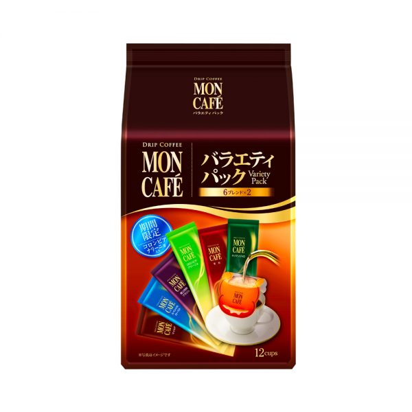 KATAOKA Mon Cafe Drip Coffee Variety Pack Sachets Made in Japan