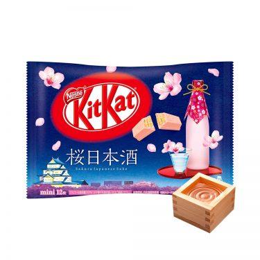 KIT KAT Sakura Japanese Sake Made in Japan