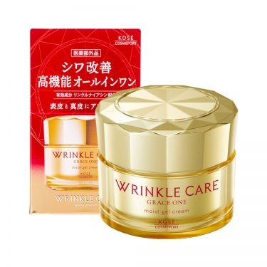 KOSE Grace All-in-One Wrinkle Care Moist Gel Moisturizing Cream Made in Japan