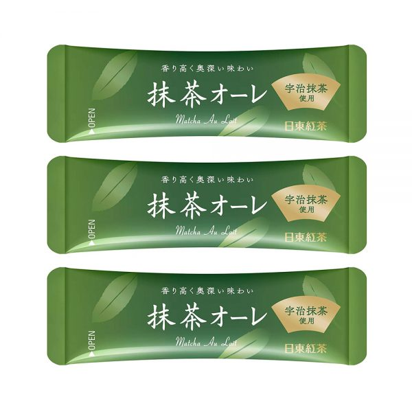 NITTOH KOCHA Tea Matcha Au Lait Sachets Limited Edition Made in Japan