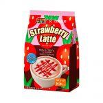 NITTOH KOCHA Tirol Chocolate x Nitto Tea Strawberry Latte Sachets Made in Japan