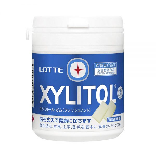 LOTTE XYLITOL White Gum Fresh Mint Made in Japan