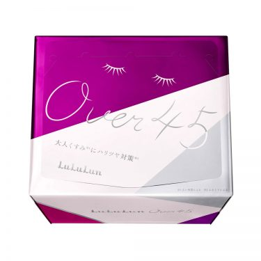 LULULUN New Anti-aging Care Face Mask Over 45 Iris Blue 32pcs - Made in Japan