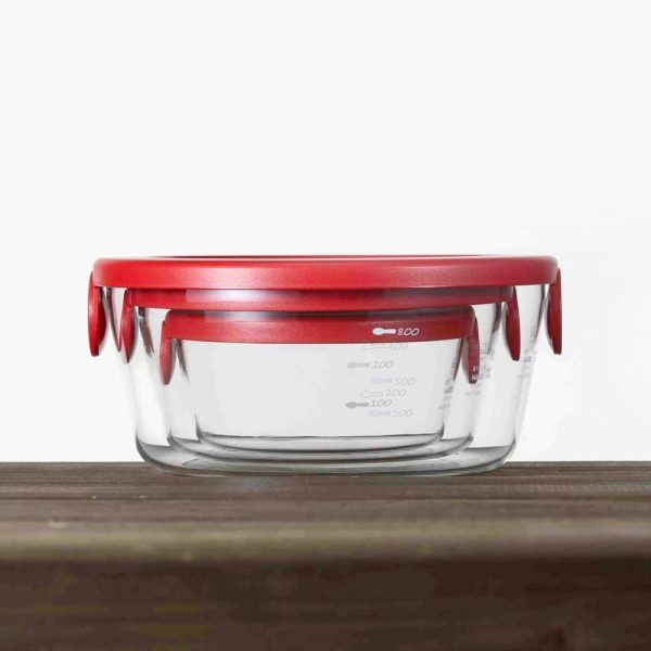 HARIO Heat-resistant Glass Storage Containers Made in Japan
