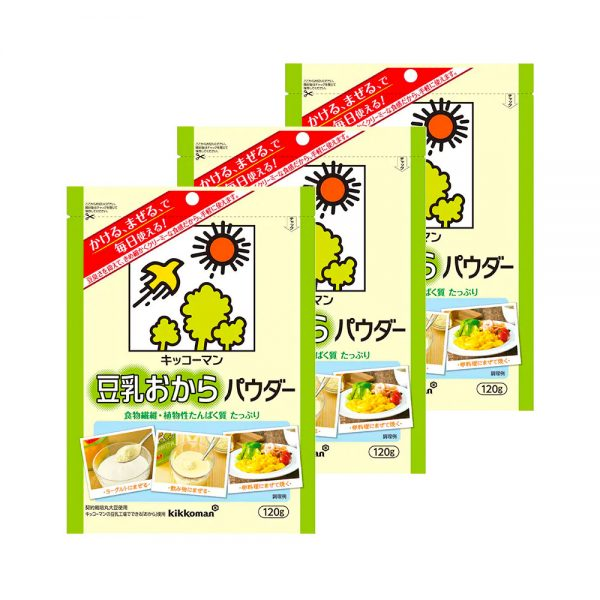 KIKKOMAN Soy Milk Okara Powder Made in Japan