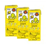 KIKKOMAN Tounyu Banana Soy Milk 0 Cholesterol Made in Japan