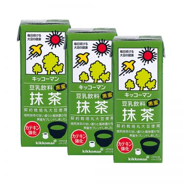 KIKKOMAN Tounyu Matcha Soy Milk 0 Cholesterol Made in Japan