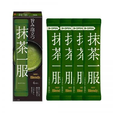 AGF BLENDY Premium Pure Matcha SticksMade in Japan