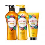 KAO Asience Moisture Rich Moist Type Shampoo, Conditioner and Treatment Set Made in Japan