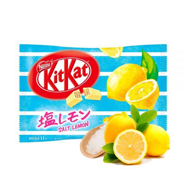 Kit Kat Salt Lemon and Lychees Made in Japan