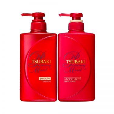 SHISEIDO Tsubaki Premium Moist Shampoo Conditional Made in Japan