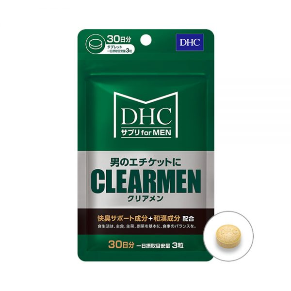 DHC MEN Supplement Hair CLEARMEN Made in Japan