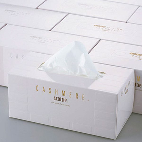 SCOTTIE Cashmere High Quality Facial Tissues Made in Japan