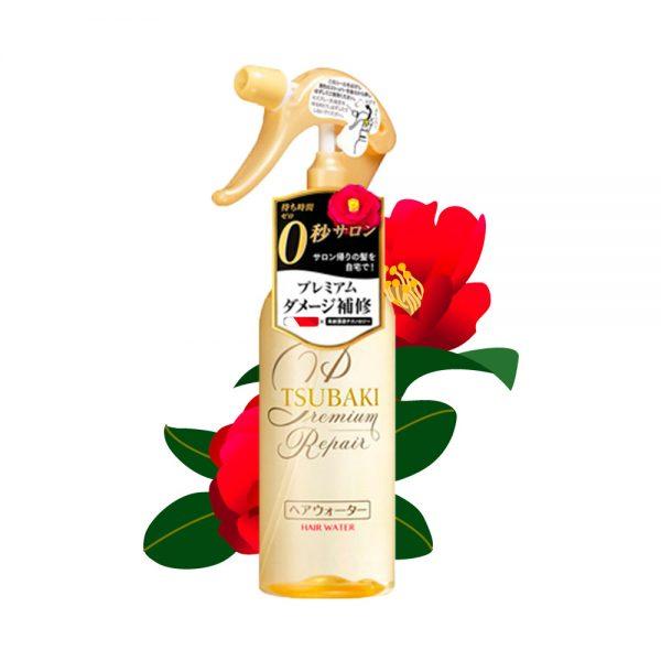 SHISEIDO Tsubaki Damage Care Hair Water Premium Repair 220ml Made in Japan