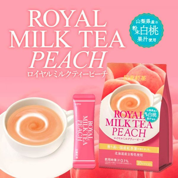 NITTOH KOCHA Royal Milk Peach Made in Japan