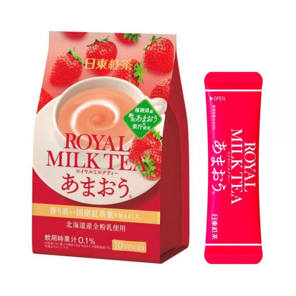 NITTOH KOCHA Royal Milk Strawberry Made in Japan