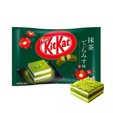 KIT KAT Mini Tiramisu Matcha Green Tea Made in Japan