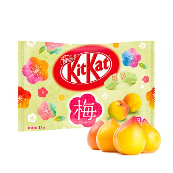 Kit Kat Mini Japanese Ume Plum Available Only in Japan