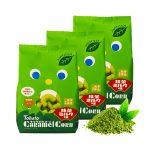 TOHATO Uji Matcha Green Tea Caramel Corns Made in Japan