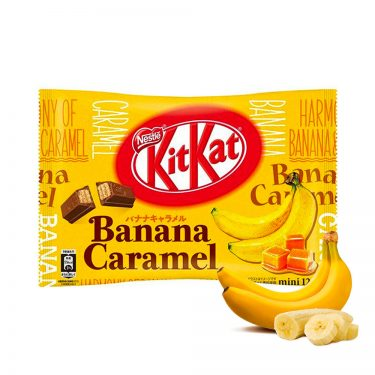 Kit Kat Banana Caramel Made in Japan